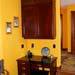 cherry desk with yellow wall thumbnail